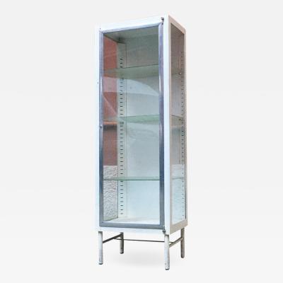 Metal display cabinet 1950s