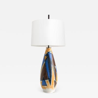 Mette Doller METTE DOLLER CERAMIC LAMP LAMP FROM H GAN S SWEDEN 1950