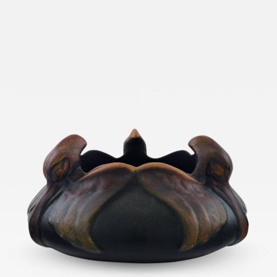 Michael Andersen Rare Michael Andersen art nouveau bowl of birds in relief