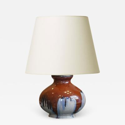 Michael Andersen Sons Art Nouveau Table Lamp by Michael Andersen Son