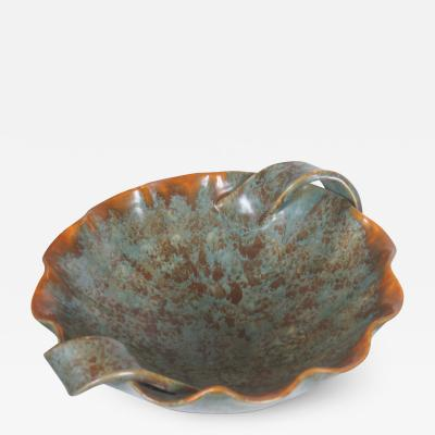 Michael Andersen Sons Fantastical Scalloped Bowl by Michael Andersen Sons