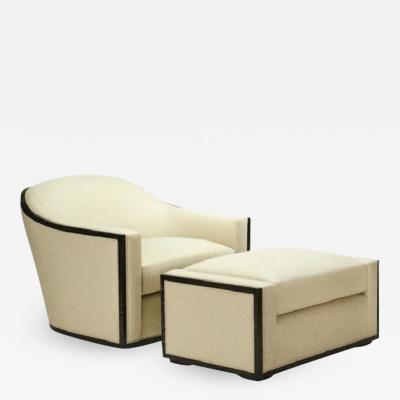 Michael Berman Piedmont Swivel Lounge Ottoman