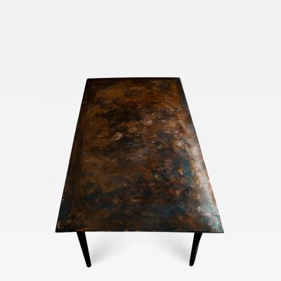 Michael Gittings Stainless Table Signed by Michael Gittings