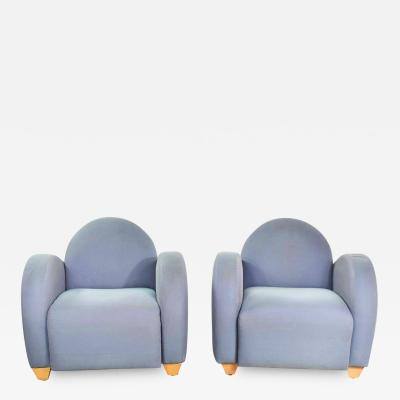 Michael Graves Michael graves postmodern club or lounge chairs by david edward company