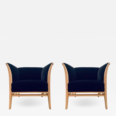 Michael Graves Pair of Michael Graves 1990s Club Chairs
