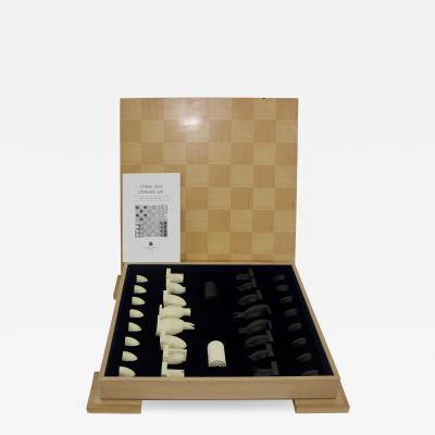 Michael Graves Post Modern Chess Checkers Set Designed by Michael Graves