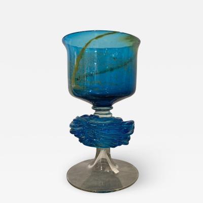Michael Harris Maltese Studio Glass Chalice