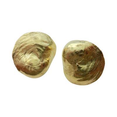 Michael Kneebone Michael Kneebone 18 Karat Yellow Gold Jingle Earrings