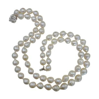 Michael Kneebone Michael Kneebone Double Strand White Kasumi Pearl Necklace