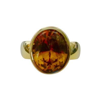 Michael Kneebone Michael Kneebone Golden Beryl Leah Ring