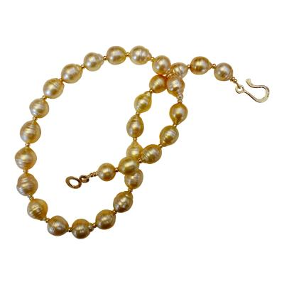 Michael Kneebone Michael Kneebone Golden Indonesian Baroque Pearl Necklace