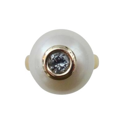 Michael Kneebone Michael Kneebone Paspaley South Seas Pearl Gray Spinel Leah Ring