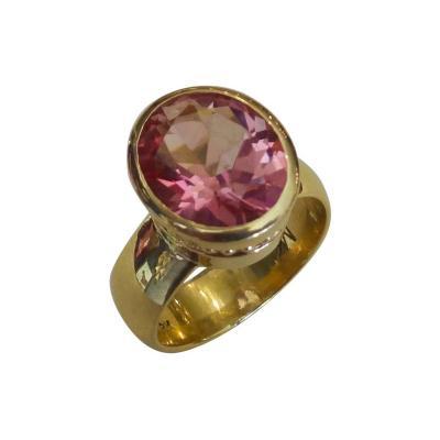 Michael Kneebone Michael Kneebone Pink Topaz Leah Ring