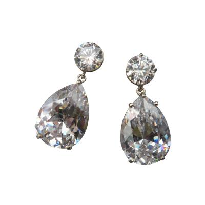 Michael Kneebone Michael Kneebone White Topaz White Sapphire Dangle Earrings