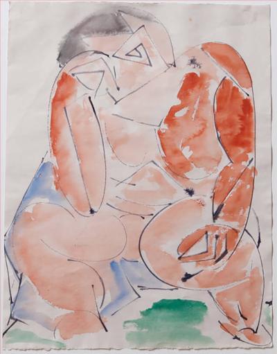 Michael Nicholas Lekakis Michael Lekakis Watercolor