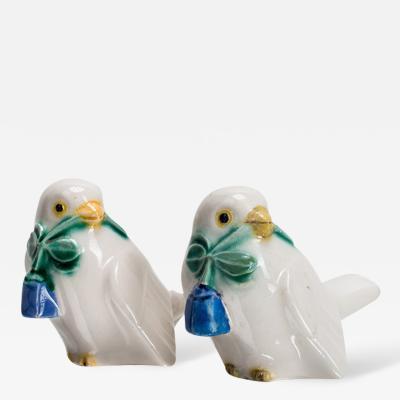 Michael Powolny Michael Powolny Two Sparrows Keramik WK GK ca 1909