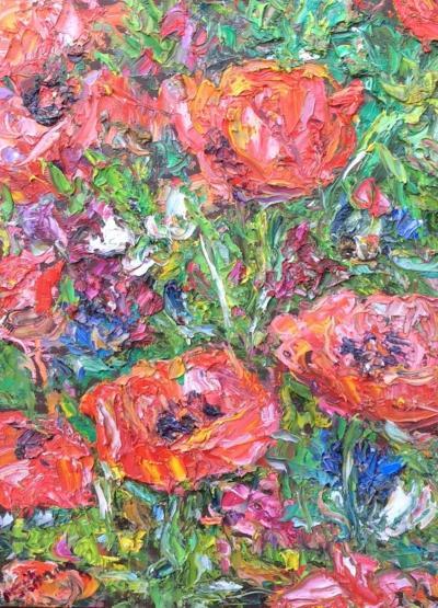 Michael Strang Elsies Garden Poppies