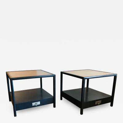 Michael Taylor New World End Tables by Michael Taylor for Baker Furniture