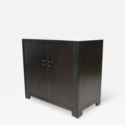 Michael Taylor Regency Far East Michael Taylor by Baker Two Door Cabinet Server Dresser Drawers