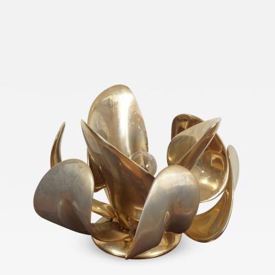 Michel Armand Rare Lit Table Sculpture