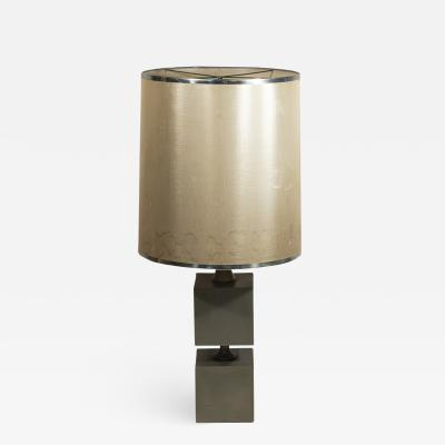 Michel Boyer Michel Boyer Pair of Table Lamps Metal circa 1970 France