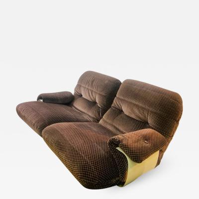Michel Ducaroy MODERNIST PERSPEX TWO SEAT SOFA BY MICHEL DUCAROY