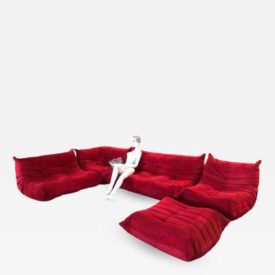 Michel Ducaroy Togo Living Room Set by Michel Ducaroy for Ligne Roset 1970s