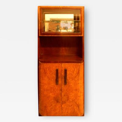 Michel Dufet Important French China Vitrine Cabinet by Michel Dufet