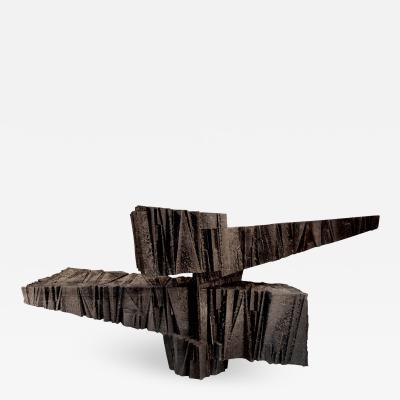 Michel Lucotte Arkham anvil N 1 sculpture by Michel Lucotte France 1962