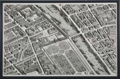 Michel tienne Turgot M Turgot Plan de Paris c1739
