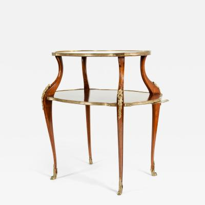 Mid 19th Century Bronze Mounted Dessert Table Side Table