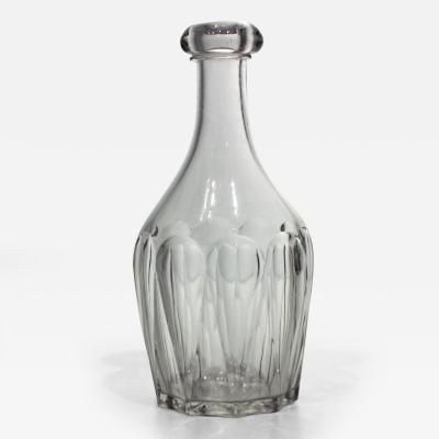 Mid 19th Century Glass Bar Bottle