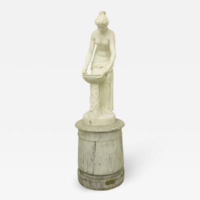 Mid 19th Century Neoclassical Carrara Marble Figurative Sculpture