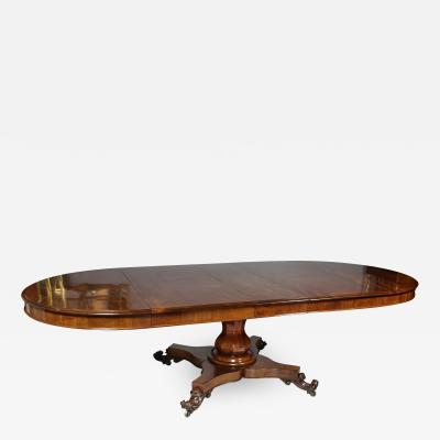 Mid 19th Century William IV Mahogany Dining Table
