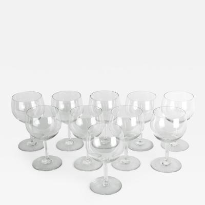 Mid 20th Century Baccarat Crystal Drinks Glassware