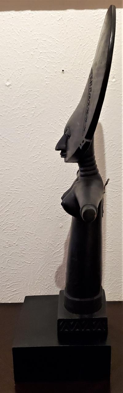 Mid 20th Century Ghanayan Akuba Fertility Doll