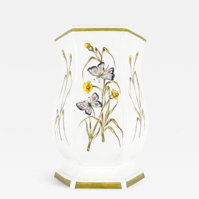Mid 20th Century Italian Porcelain Umbrella Stand
