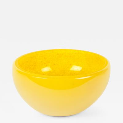 Mid 20th Century Murano Glass Art Deco Style Deco Bowl Piece