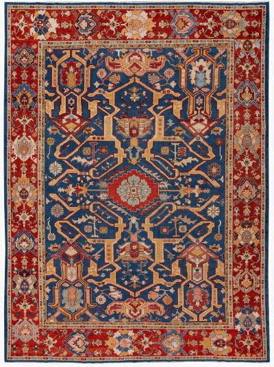 Mid 20th Century Vintage Turkish Wool Rug
