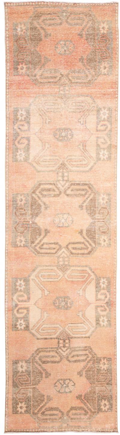 Mid 20th Century Vintage Wool Runner Rug 3 X 11