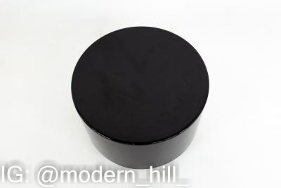 Mid Century Black Acrylic Side End Table