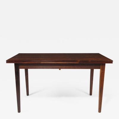 Mid Century Brazilian Rosewood Dining with Dramatic Grain
