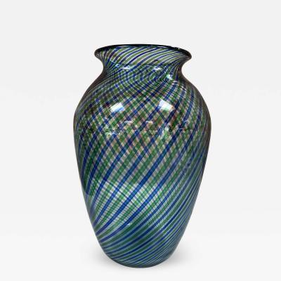 Mid Century Colorful Vase Italy 1970s