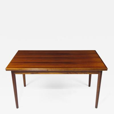 Mid Century Danish Rosewood Dining Table