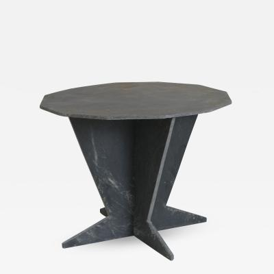 Mid Century French Slate Center Table From Trelaze