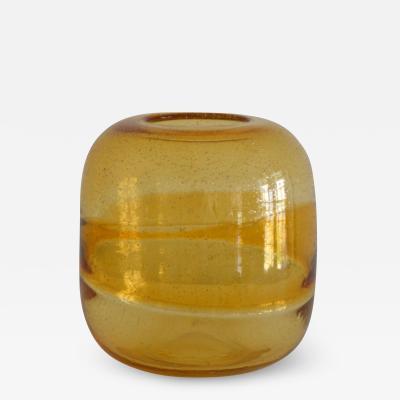 Mid Century Italian Blown Glass Vase