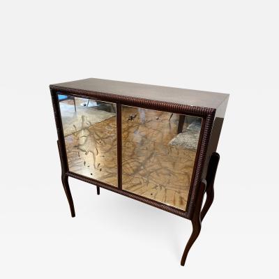 Mid Century Italian Mini Dry Bar Cabinet