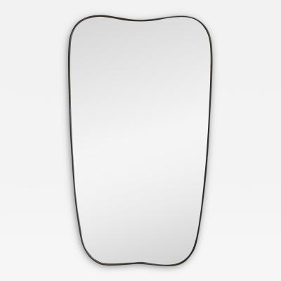 Mid Century Italian Shield Mirror