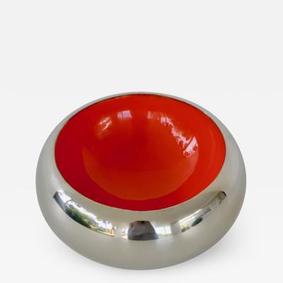 Mid Century Metal Bowl