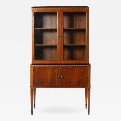 Mid Century Modern Art Deco China Cabinet